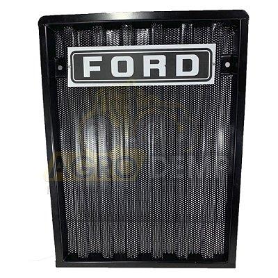 GRADE DIANTEIRA DO RADIADOR FORD 4600 / 5600 / 6600 - D5NN8200A