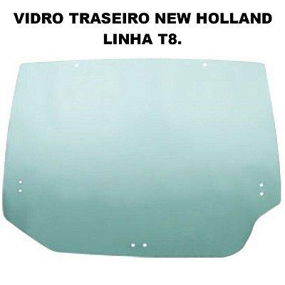 VIDRO DA JANELA TRASEIRA ORIGINAL NEW HOLLAND LINHA T8 - 87309738
