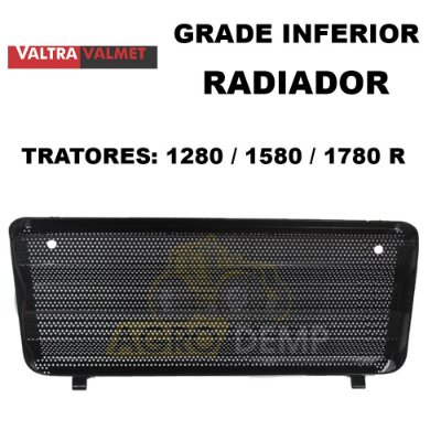 GRADE INFERIOR DO RADIADOR VALTRA 1280 / 1580 / 1780R - 80858400