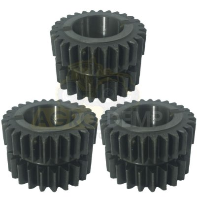 KIT COM 3 ENGRENAGENS DO REDUTOR CREEPER VALTRA BM85 / BM100 / BM110 / BM120 (GII) - 86332600