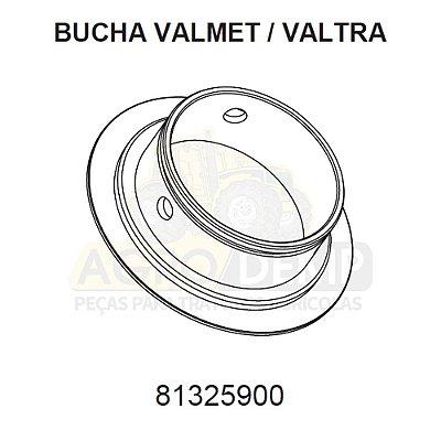 BUCHA DOS MANCAIS DIANTEIROS E TRASEIROS DOS EIXOS - VALTRA / VALMET 600 / 685C / 685F / 700 / 785C / 785F / 800 / 885 / 900 / 985 / BL77 / BL88 / BM85 / BM100 / BM110 / BM120 / BM125 (GERAÇÕES 1 E 2) - 81325900