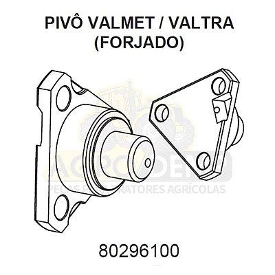 PIVÔ DA CARCAÇA ARTICULADORA (FORJADO) - VALTRA / VALMET 600 / 685C / 685F / 700 / 785C / 785F / 800 / 900 / BL77 E BL88 - 80296100