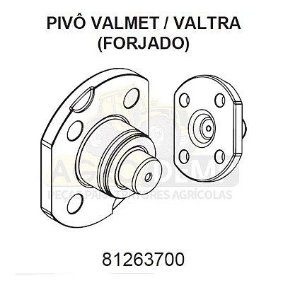 PIVÔ INFERIOR (FORJADO) - VALTRA / VALMET 685F / 785F / BF65 E BF75 - 81263700