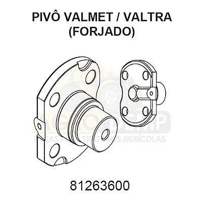 PIVÔ SUPERIOR (FORJADO) - VALTRA / VALMET 685F / 785F / BF65 E BF75 - 81263600