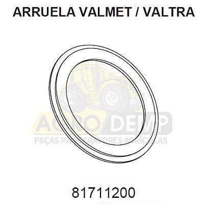 ARRUELA DE ENCOSTO DA CARCAÇA CENTRAL TRAÇÃO Z - VALTRA / VALMET BH165 / BH1780 / BH180/ BH185 / 1280 A 1880 E MASSEY FERGUSON 660 / 680 / 7150 / 7170 / 7180 E 7300 - 81711200