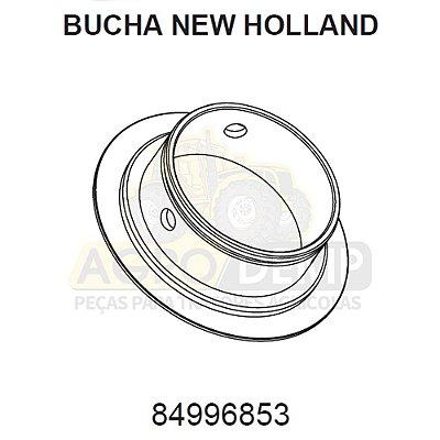 BUCHA DO EIXO DIANTEIRO - FORD / NEW HOLLAND 4630 / 5030 / 5630 / 6630 / 7630 / 7830 E 8030 - 84996853
