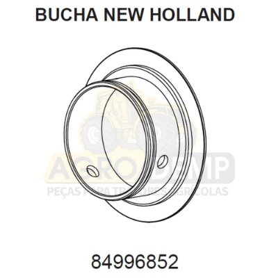 BUCHA - FORD / NEW HOLLAND 4630 / 5030 / 5630 / 7630 / 7830 E 8030 - 84996852