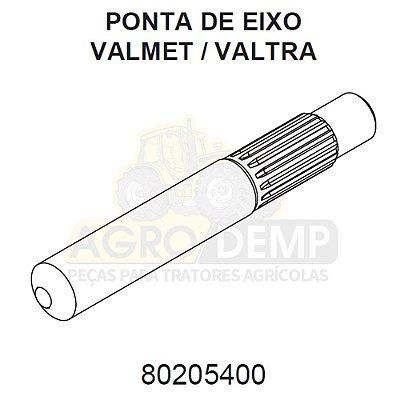 EIXO INTERNO EMBREAGEM - VALTRA / VALMET 880 / 980 / BM110 / BM120 E BM125 - 80205400