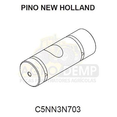 PINO DE DIREÇÃO HIDRÁULICA - FORD / NEW HOLLAND 85 / 5600 A 6610 - C5NN3N703