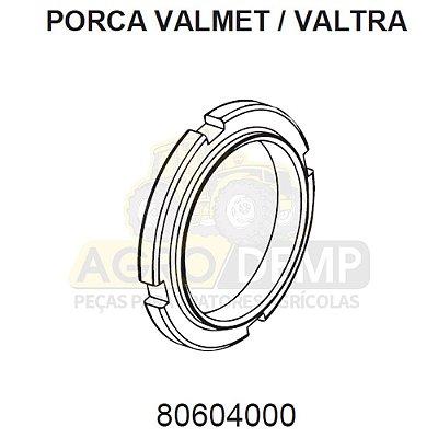 PORCA RANHURADA - VALTRA / VALMET 600 / 685C / 685F / 700 / 785C / 785F / 800 / 885 / 900 / 985 / BL77 / BL88 / BM100 / BM110 / BM120 / BM125 (GERAÇÕES 1 E 2) - 80604000