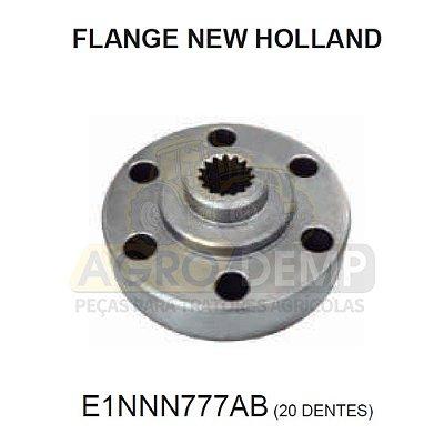 FLANGE DA TRANSMISSÃO - FORD / NEW HOLLAND 4610 / 5610 / 6610 / 7610 / 7810 / 8010 / TS80 / TS90 / TS100 E TS110 - E1NNN777AB