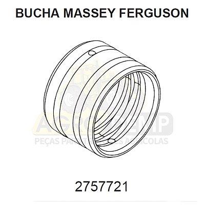 BUCHA DE AÇO PARA (RETROESCAVADEIRA E COLHEITADEIRA) - MASSEY FERGUSON 86 / 96 / 750 I E 750 II - 2757721