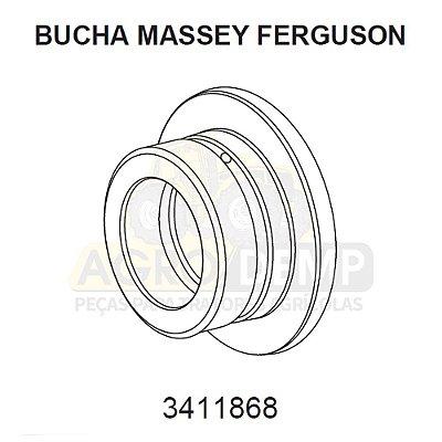BUCHA DE AÇO (RETROESCAVADEIRA E COLHEITADEIRA) - MASSEY FERGUSON 86 / 96 / 750 I E 750 II - 3411868