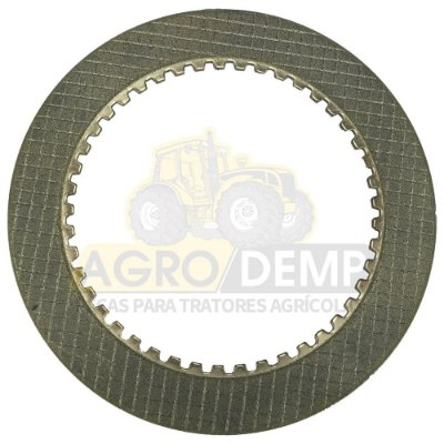 DISCO DE BRONZE DA TDF - FORD / NEW HOLLAND 4600 / 4610 / 4630 / 5030 / 5600 / 5610 / 5630 / 6600 / 6610 / 6630 / 7610 / 7630 / 8030  - C5NNP743B