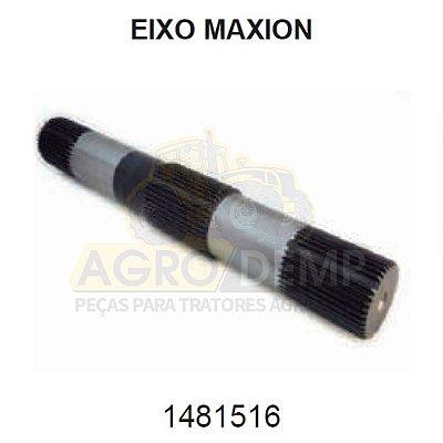 EIXO ACIONADOR DOS BRAÇOS DO LEVANTE HIDRÁULICO TRASEIRO - MASSEY FERGUSON / MAXION 50X E 65X - 1481516