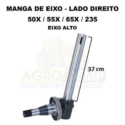 MANGA DE EIXO DIANTEIRA LADO DIREITO (EIXO ALTO - 37CM DE HASTE)  - MASSEY FERGUSON 50X / 55X / 65X / 235 A 265 - 1481397