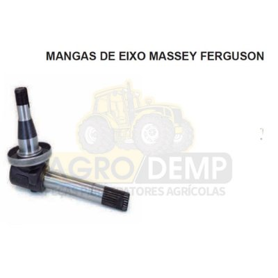 MANGA DE EIXO (LADO DIRETA) - MASSEY FERGUSON 296 / 297 / 299 - 3145066