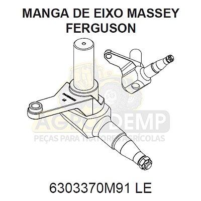 MANGA DE EIXO TRASEIRA (LADO ESQUERDO COLHEITADEIRA) - MASSEY FERGUSON 9790 - 6303370