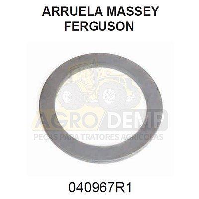 ARRUELA DO CONJUNTO SUPORTE DO EIXO DIANTEIRO (TRAÇÃO CARRARO) - MASSEY FERGUSON 297 / 299 / 610 / 620 / 630 / 640 E 650 - 040967