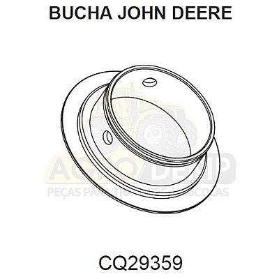 BUCHA DO PIVÔ - JOHN DEERE 5055E / 5065E / 5090E / 5303 / 5403 / 5600 / 5700 E 5705  - CQ29359