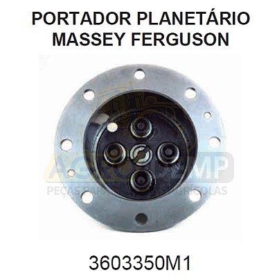 PORTA PLANETÁRIAS TRAÇÃO DIANTEIRA ZF APL 350 / AS3050 (04 PINOS) - MASSEY FERGUSON 297 / 299 / 630 E 640 - 3603350