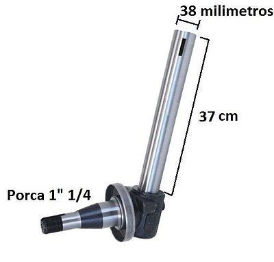 MANGA DE EIXO 4X2 - (LADO DIREITO - 38 X 370MM - MODELO MAIOR) - MASSEY FERGUSON 85X / 95X / 265 / 275 / 285 / 290 - 1481873