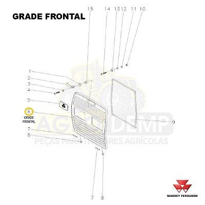 GRADE - MASSEY FERGUSON 265ADV / 265 / 275ADV / 283ADV E 290ADV - 065635