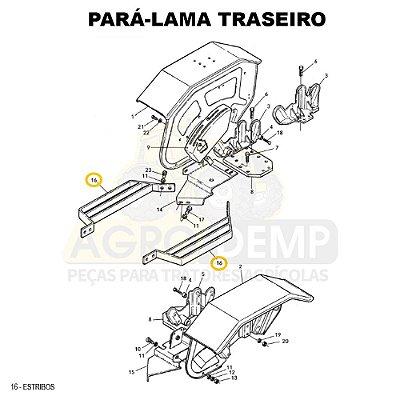 ESTRIBO - VALTRA 685C / 685C / 685F / 685F / BF65 E BF75 - 83170300