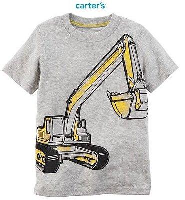Camisa Carter's Manga Curta - Construção