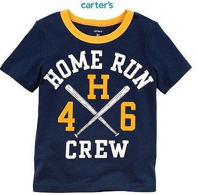 Camisa Carter's Manga Curta - Home Run
