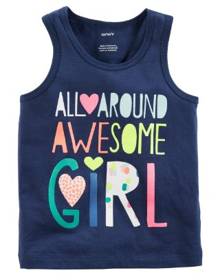 Camiseta Carter's - Awesome Girl