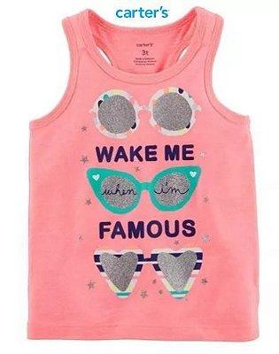 Camiseta Carter's - Wake me Famous