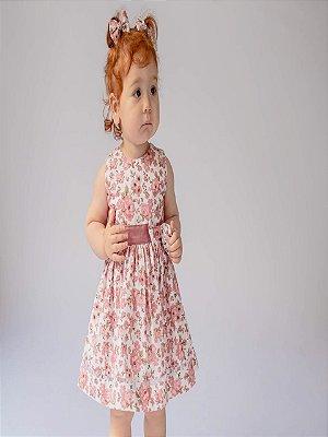 Vestido Bebê Florido