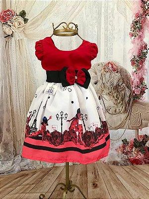 Vestido de Festa Infantil - Lady Bug - Super Luxo