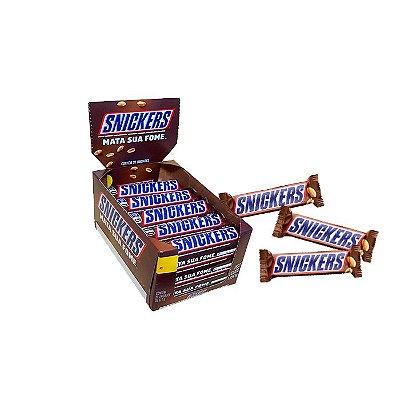 Snickers com 20 unidades de 52,7g cada