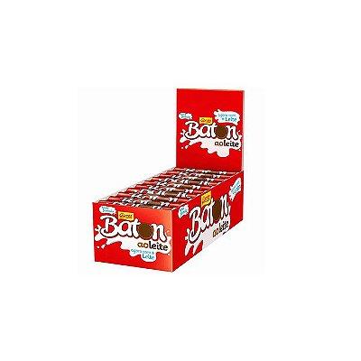 Chocolate Baton ao Leite com 30 unidades de 16g cada Garoto