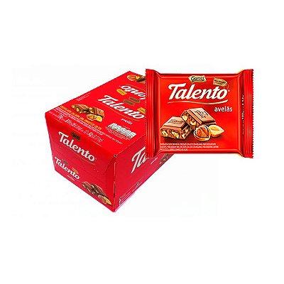 Talento Avelãs com 12 unidades de 90g cada Garoto