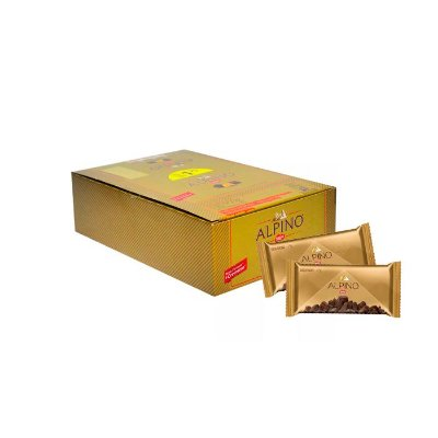 Chocolate Alpino Nestle Tablete com 18 unidades de 25g cada