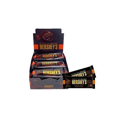 Tablete Special Dark Hershey's Tradicional com 12 unidades de 20g cada