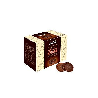 PASTILHA DE CHOCOLATE BORUSSIA 80% CACAU