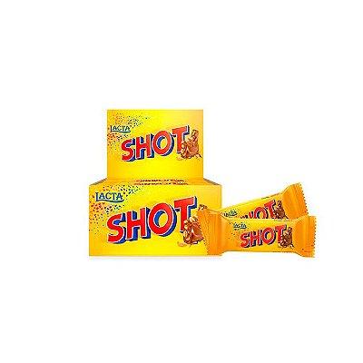 Chocolate Shot com 20 unidades de 20g cada Lacta