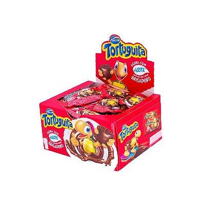 Chocolate Tortuguita Brigadeiro com 24 unidades de 18g cada Arcor