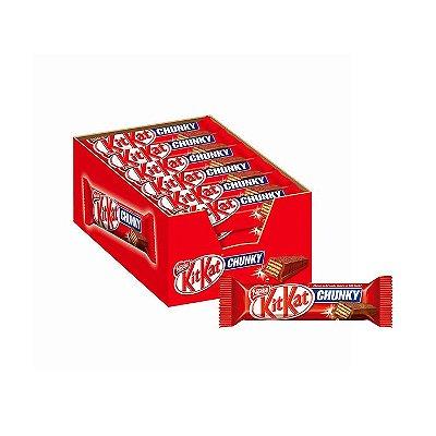 Kit Kat Chunky com 24 unidades de 40g cada Nestle