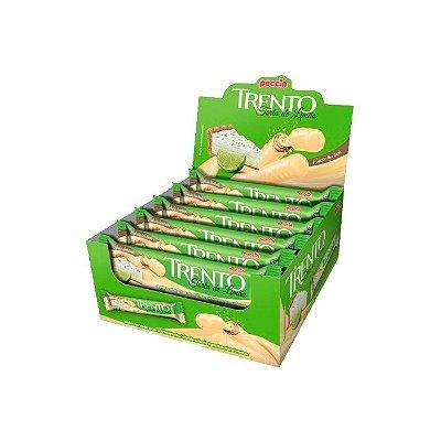 Wafer Trento Torta de Limão com 16 unidades de 32g cada