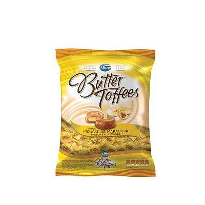 Bala Butter Toffees Mousse de Maracujá 600g Arcor