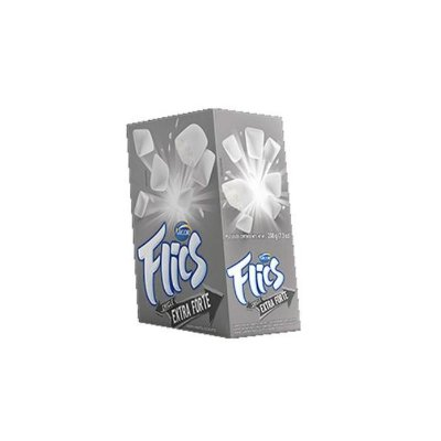 Chicletes Flics Extra Forte 221g