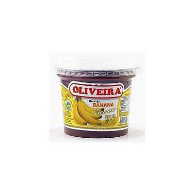 Doce de Banana Cremoso Oliveira 400g