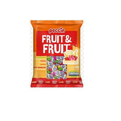 Bala Fruit & Fruit Peccin 600g