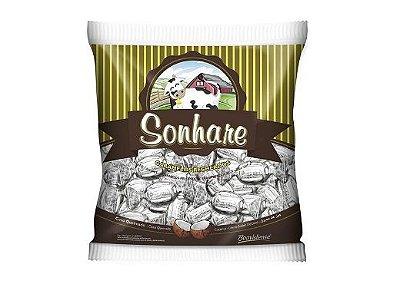 Bala Caramelos recheados de coco queimado Sonhare 600g Boavistense