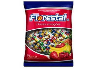 BALA FLORESTAL DE FRUTAS 600g